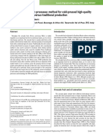 Avocado Oil Extraction Processes Method for Cold-p