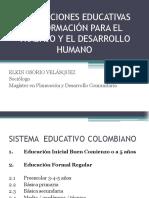 Instituciones Educativas de Formacion Para El Trabajo y