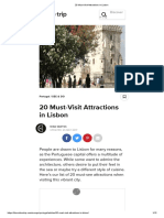 20 Must-Visit Attractions in Lisbon