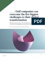 Mckinsey - Gulf Companies - Digital Challenges