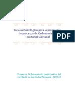 Guía para promoción de Ordenamiento Territorial