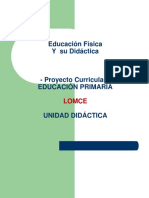 Proyecto Curricular Lonce Power Point