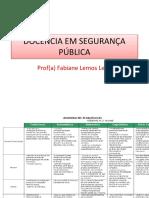 Docência Em Segurança Pública - Aula Juazeiro Do Norte 08-06-2019