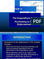 Chapter 11 The Expenditure Cycle Purchasing to Cash Disbursements.ppt