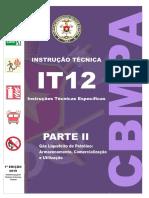 IT 12 Parte II Bombeiros de Goiás
