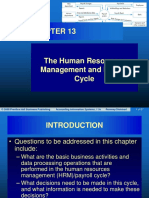 Chapter 13 The Human Resources Management and Payroll Cycle .ppt