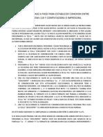 CONEXIÓN ENTRE DWI-110 Y PC