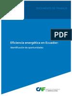 Indicadores eficiencia energética Ecuador