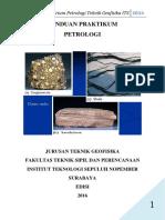 Modul Praktikum Petrologi