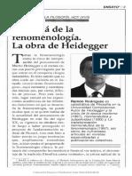 Ramon on Heidegger (March)