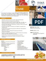 Curso Internacional - Food-Defense -Lima - Junio 2019