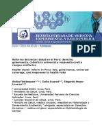 LECTURA 4 Reforma de Salud