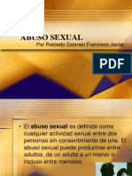 ABUSO SEXUAL-Robledo Francisco