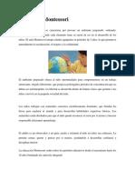 El Método Montessori y Decroly