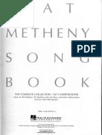 Pat Metheny Song Book