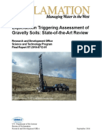 Liquefaction Triggering Assessment of Gravelly Sand State-Of-Art Review Report