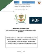 Tdr Para Estudio Pre Inversion-foniprel