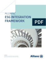 Allianz ESG Integration Framework