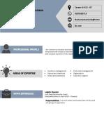 Curriculum Vitae Format Jdbj