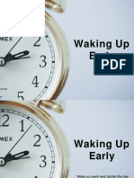Why to Get Up Early-Akshay Yewale