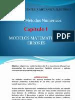 CAPITULO I Modelos Matematicos y Errores, Parte 1