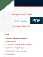 1 Management de Projet ENCG Kenitra 2019