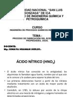 Acido Nitrico, Usos, Procesos