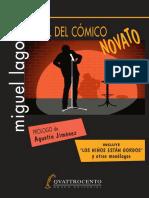 Manual Del Cómico Novato - Miguel Lago