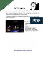 Pessoas de Fernando - Apresentação