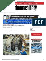 Aeroderivative Gas Turbines _ Turbomachinery Magazine