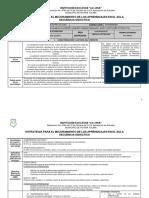 Anexo 8.1 Planeación Clase Multigrado Lenguaje