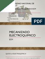Maquinado electroquímico