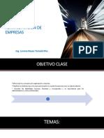 Clase i Organizacion y Clasificacion de La Empresa 2019
