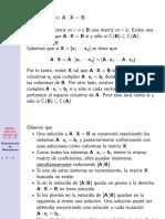 Algebra Matricial Solucion Ax