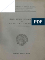Primer Reunion Interamericana 1942
