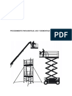 Procedimiento Para Construccin, Uso y Desmontaje de Andamios (Modificado Arl Sura)