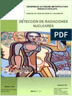 Prácticas Detección Radiaciones