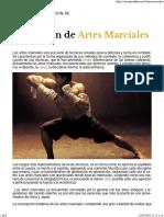 Artes Marciales - Qué Es y Definición 2019