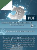 Conferencia Registro de Propiedad Intelectual