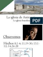 La Iglesia de Antioquia