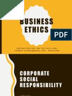 Module 9 - Corporate Social Responsibility