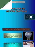 4.Proyectos de Mejora Continua