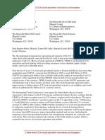 USMCA Letter