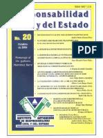 Responsabilidad Civil y Del Estado No. 20 2006