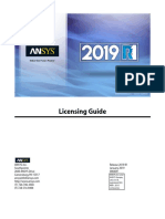 ANSYS Inc. Licensing Guide