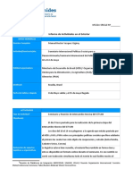 Forme de Actividades de informe