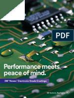 Novec Electronic Grade Coatings Brochure