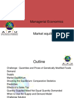 Chapter 2- Market Equilibruim - Advance