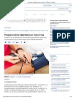 Pesquisa de La Hipertensión Endócrina
