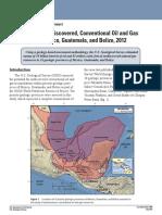 USGS - Central America Hydrocarbon Estimates